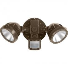 Progress P6341-2030K - Two-Light Security/Flood Light With Motion Sensor