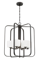 Craftmade 43536-ABZ - Clarendon 6 Light Foyer in Aged Bronze Brushed