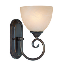 Jeremiah 25301-OB - Raleigh 1 Light Wall Sconce in Old Bronze