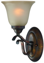 Jeremiah 29001-BBZ - McKinney 1 Light Wall Sconce in Burleson Bronze