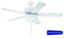 "Ellington Fan E201W - Pro Builder 201 52"" Ceiling Fan with Light in White (Blades Sold Separately)"