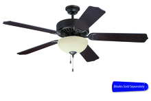 "Ellington Fan E208AG - Pro Builder 208 52"" Ceiling Fan with Light in Aged Bronze Textured (Blades Sold Separately)"
