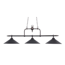 ELK Lighting 191-TB - Designer Classics 3 Light Billiard In Tiffany Br