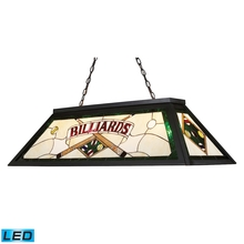 ELK Lighting 70083-4-LED - Tiffany Lighting 4 Light LED Billiard Light In T