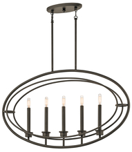 Kichler 43732OZ - Linear Chandelier 5Lt