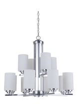 Craftmade 39712-CH - Albany 12 Light Chandelier in Chrome