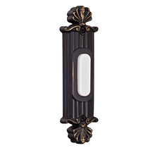 Craftmade BSSO-AZ - Surface Mount Straight Ornate Lighted Push Button
