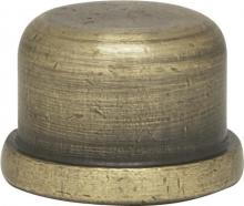 "Satco Products Inc. 80/1518 - 1/2"" Finial-Zinc Die Cast 1/4-29"
