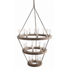 Arteriors Home 84173 - Geoffrey Three Tier Chandelier