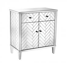 Sterling Industries 1114-210 - Chatelet Cabinet In Clear Mirror Finish