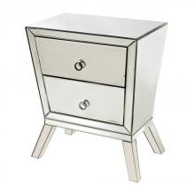 Sterling Industries 114-54 - Thurso 2-Drawer Mirrored Side Cabinet