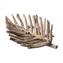 Dimond 356005 - Driftwood Leaf Tray - Small