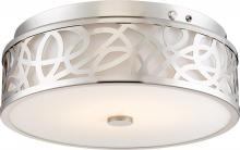 Nuvo 62-977 - LED EMR Flush Brushed Nickel