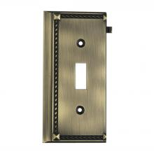 ELK Lighting 2507AB - Clickplates End Plate In Antique Brass